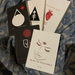 r.n. Sin poetry book collection